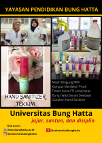 Prodi Teknik Kimia Secara Swadaya Ciptakan Hand Sanitazer untuk Pencegahan Covid ...
