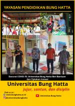 Darurat COVID-19, Universitas Bung Hatta Beri Bantuan dan Ciptakan Inovasi