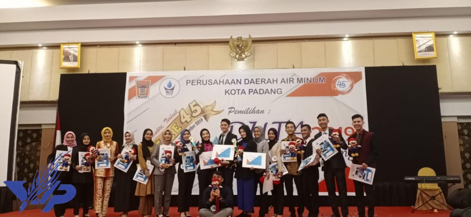 Mahasiswa Universitas Bung Hatta Masuk 15 Besar Finalis Duta PDAM Kota Padang 2019