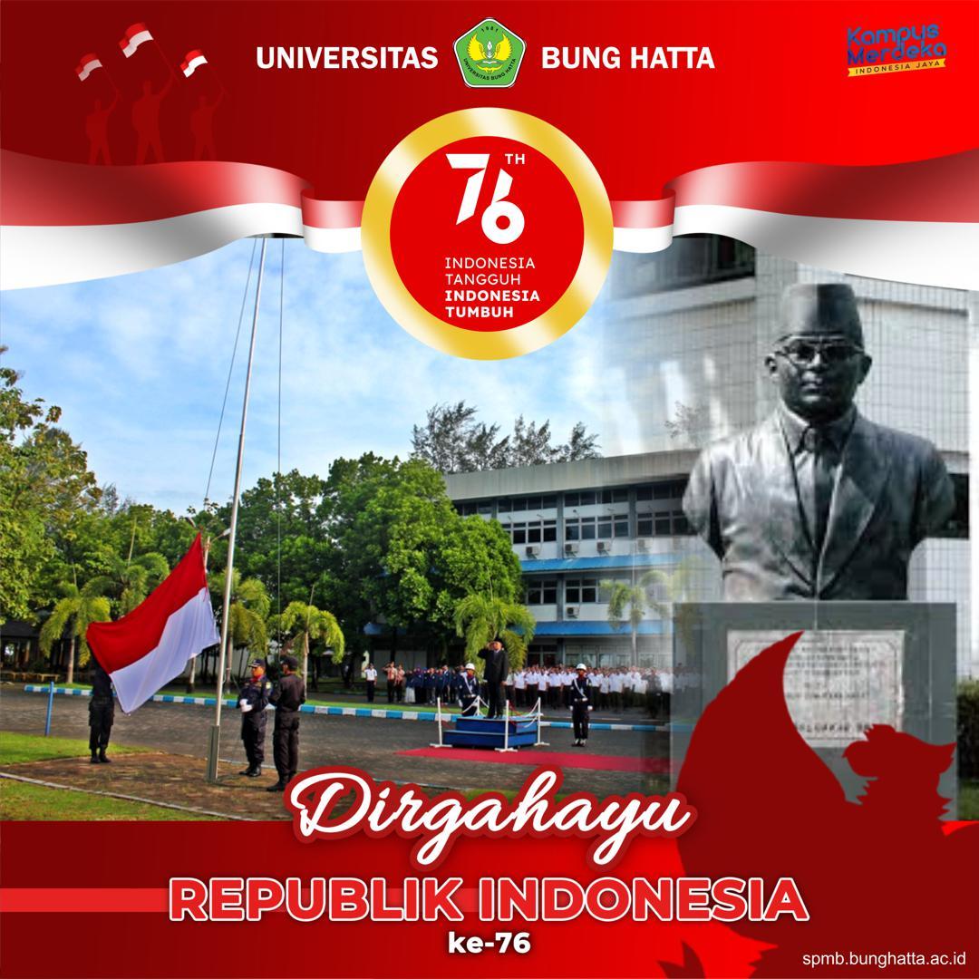 Dirgahayu ke-76 Republik Indonesia.