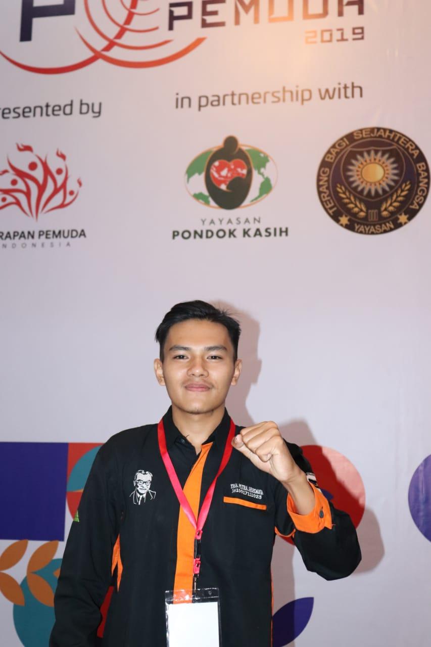 Robi Al Ali, Mahasiswa Prodi Teknik Elektro (TE) Fakultas Teknologi Industri (FTI) Terpilih Menjadi Delegasi dari Provinsi Sumatra Barat dalam Festival Pemuda 2019