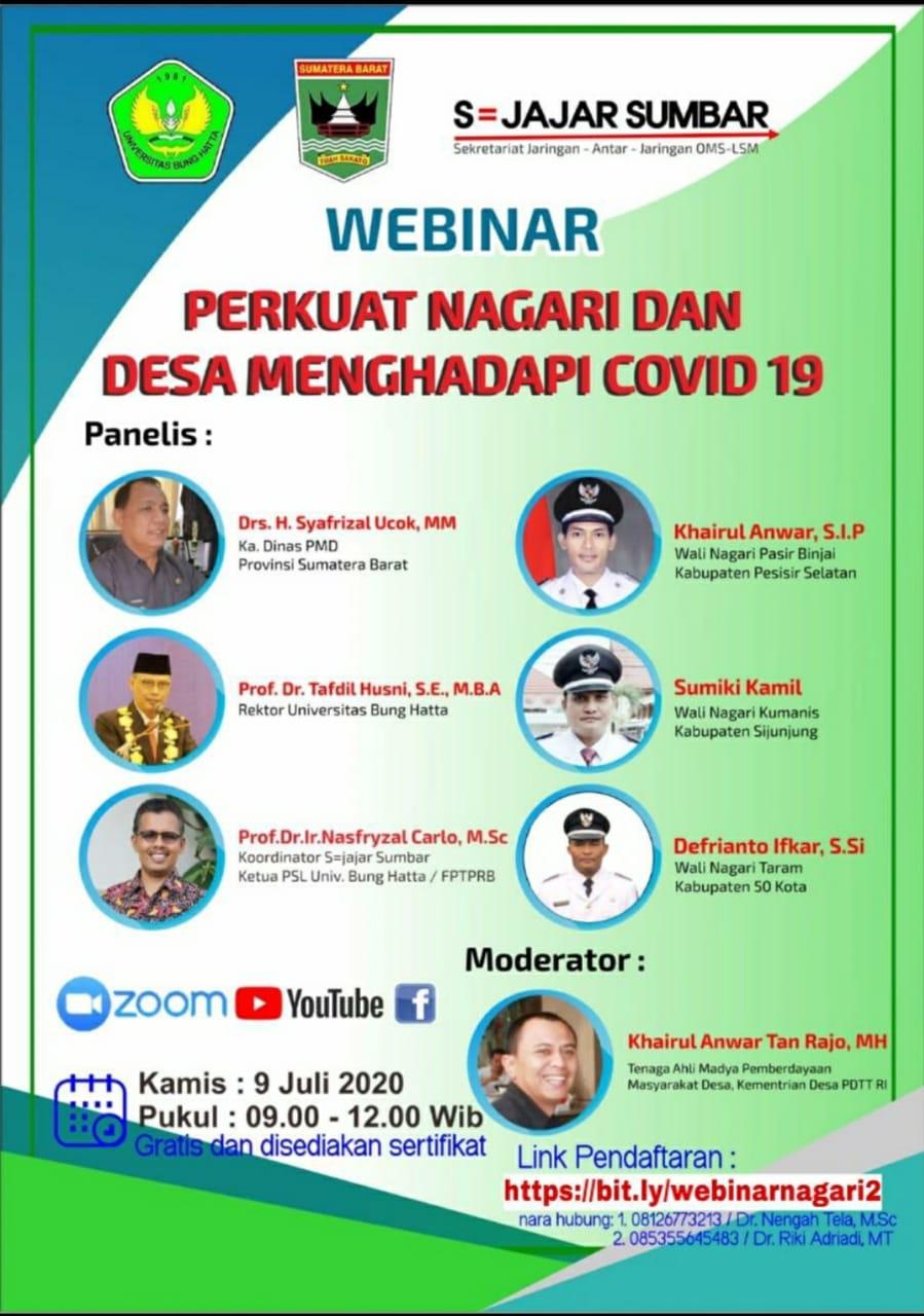 Webinar FTSP Universitas Bung Hatta