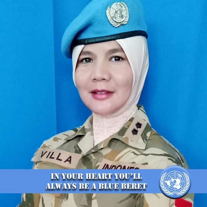 Revilla Oulina, Alumni Universitas Bung Hatta Jadi Komandan Pasukan PBB di Afrika