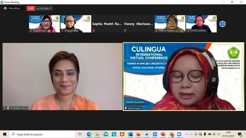 Program Studi Sastra Inggris Sukses Selenggarakan Konferensi Internasional Culingua