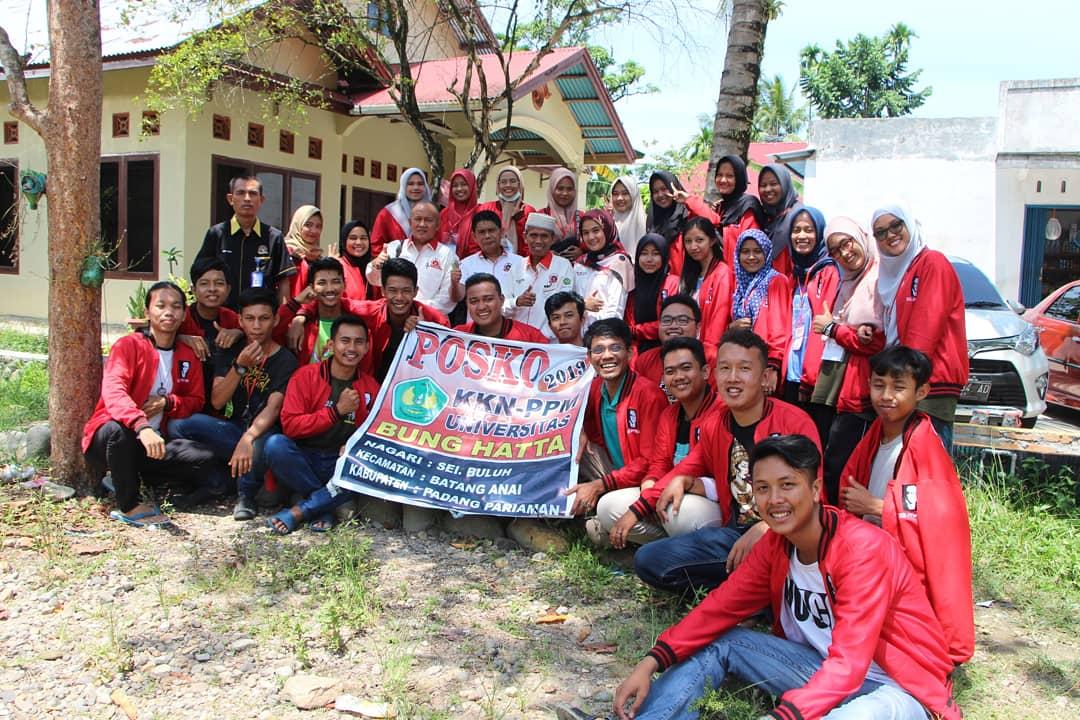 Rektor Universitas Bung Hatta Monev KKN-PPM ke Kabupaten Padang Pariaman