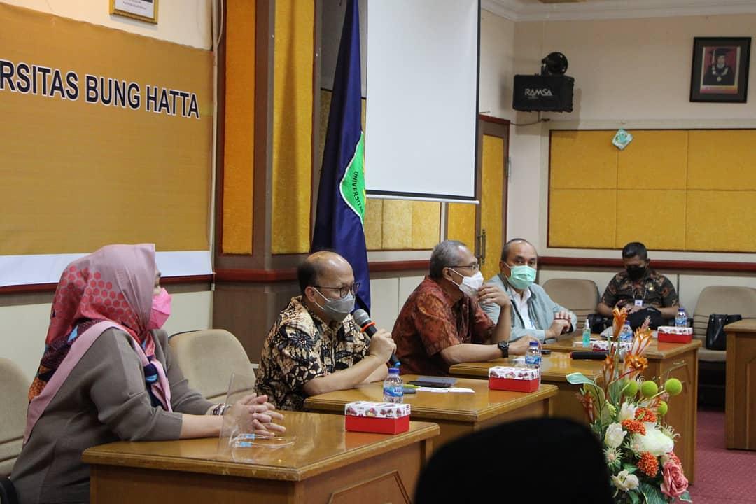 Rombongan Kementerian Ketenagakerjaan RI Berkunjung ke  Universitas Bung Hatta