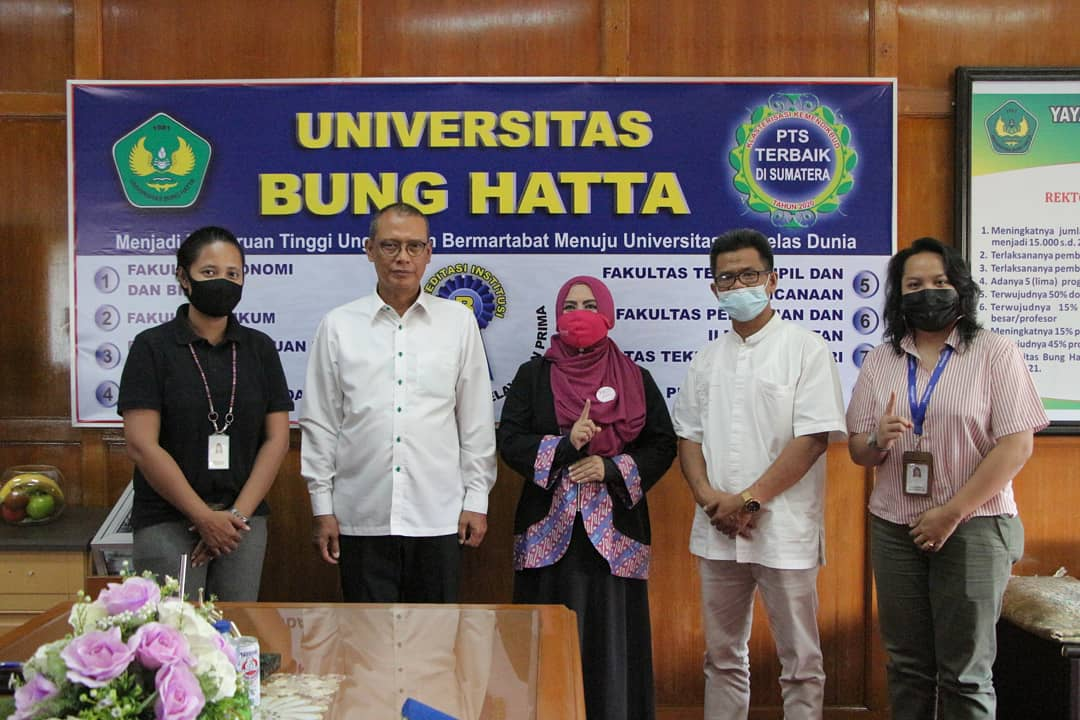 Universitas Bung Hatta Jalin Kerja Sama dengan Ikatan Pengusaha Muslimah Indonesia (IPEMI) Kota Padang