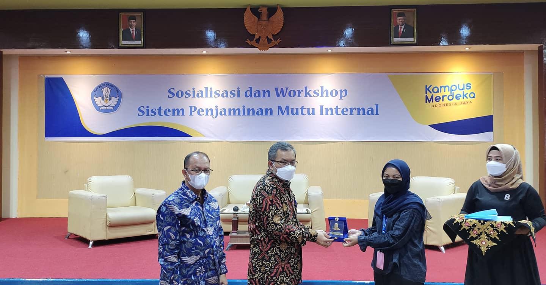 Universitas Bung Hatta Tuan Rumah Sosialisasi dan Workshop pelaporan SPMI untuk Perguruan Tinggi