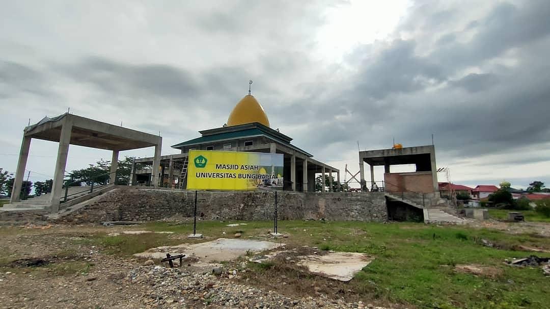 Masjid Asiah Kampus Proklamator II Telah Dapat Difungsikan