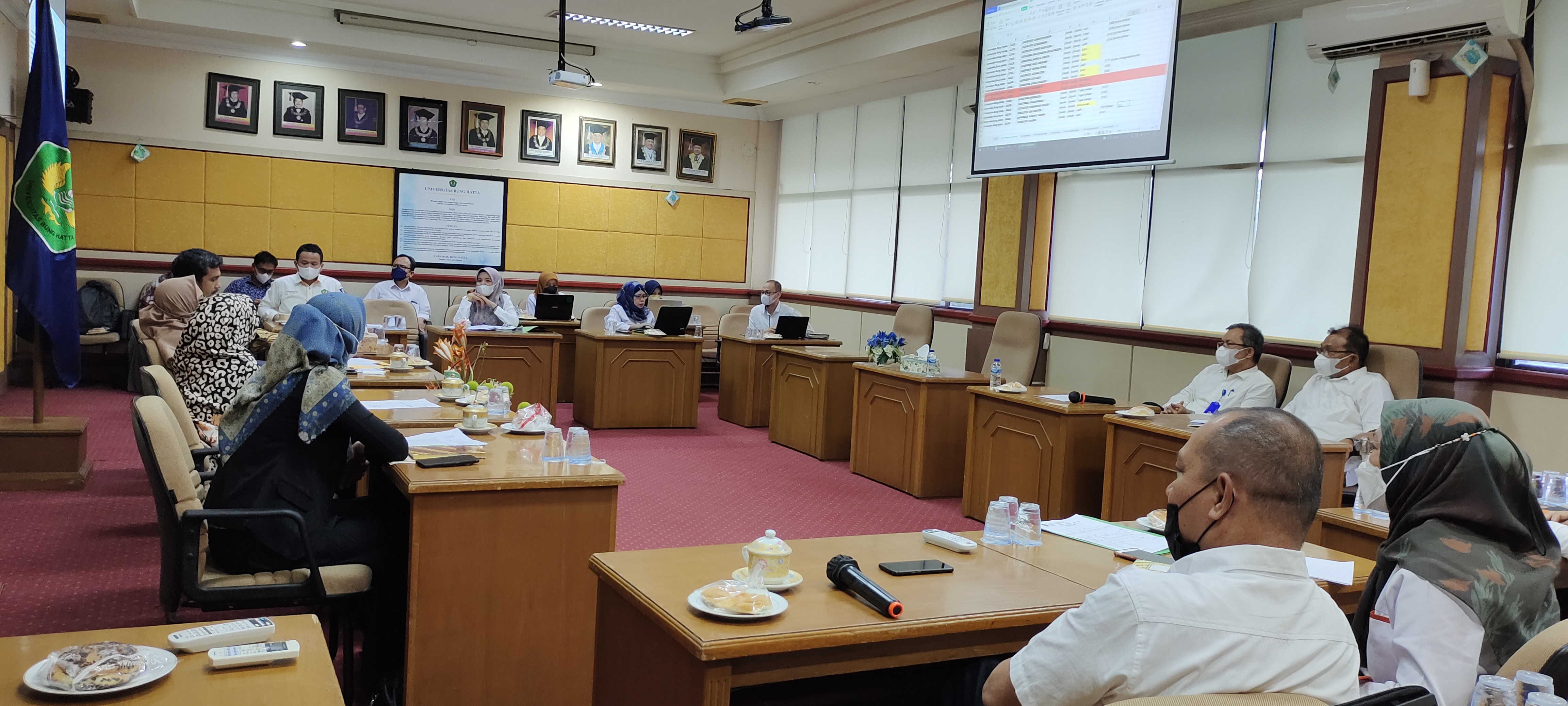 Tim LLDIKTI X Kunjungi Universitas Bung Hatta dalam Rangka Wasdalbin Tahun 2021