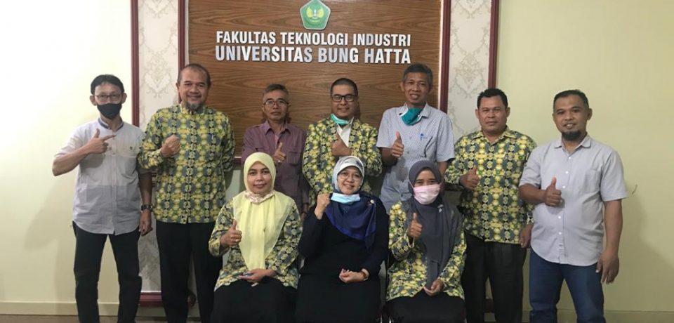 Universitas Lancang Kuning Kunjungi FTI Universitas Bung Hatta