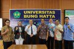 Delegasi Kementerian Luar Negeri Berkunjung ke Universitas Bung Hatta