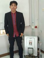 Dafitra Juhanda, Mahasiswa Prodi Teknik Elektronik Berhasil Membuat Robot Bak Sa ...