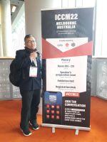 Dr. Hendra Suherman, S.T., M.T., Menjadi Pembicara dalam ICCM 22 di Melbourne
