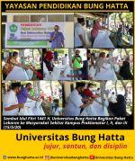 Sambut Hari Raya Idul Fitri 1441 H, Universitas Bung Hatta Bagikan Paket Lebaran ke Masyarakat Sekitar Kampus