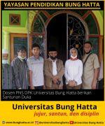 Dosen PNS DPK Universitas Bung Hatta Berikan Santunan Duka