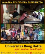 Dosen dan Mahasiswa Teknik Kimia Universitas Bung Hatta PKM Berbagi Masker Cegah ...