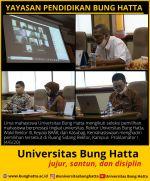 Pemilihan Mahasiswa Berprestasi Tingkat Universitas Bung Hatta