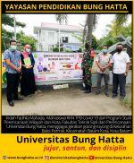 Mahasiswa KKN TPB Covid-19 Universitas Bung Hatta Gagas Gerakan Gotong Royong di ...