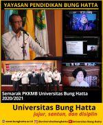Semarak PKKMB Universitas Bung Hatta 2020-2021