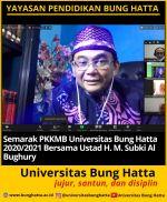 Ustad H. M. Subki Al Bughury Beri Pembekalan kepada Mahasiswa Baru Universitas B ...