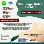 """Challenge Sekotak Susu dengan tema """"Universitas Bung Hatta: Gerakan Sehat S ..."""