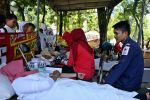 UKM KSR-PMI Proklamator Gelar Aksi Donor Darah di 3 Tempat