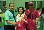 Suci Audia Rahmadani Mahasiswa Sastra Indonesia Universitas Bung Hatta Juara 1 Kejurnas Taekwondo